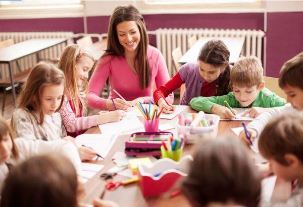 Early Career Teacher in classroom
