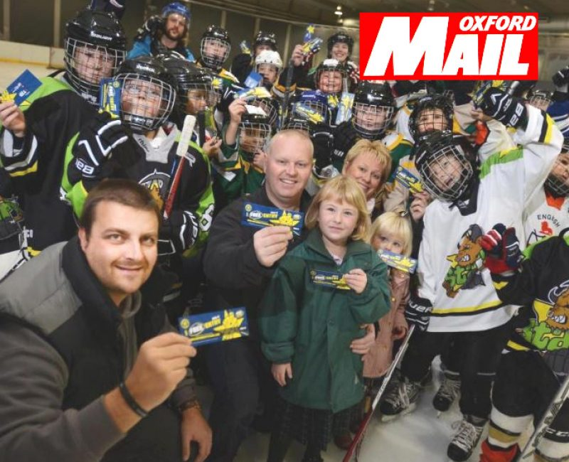 Contributing to Oxfordshire communities with sponsorship of Oxford City Stars and Junior Stars ice hockey teams